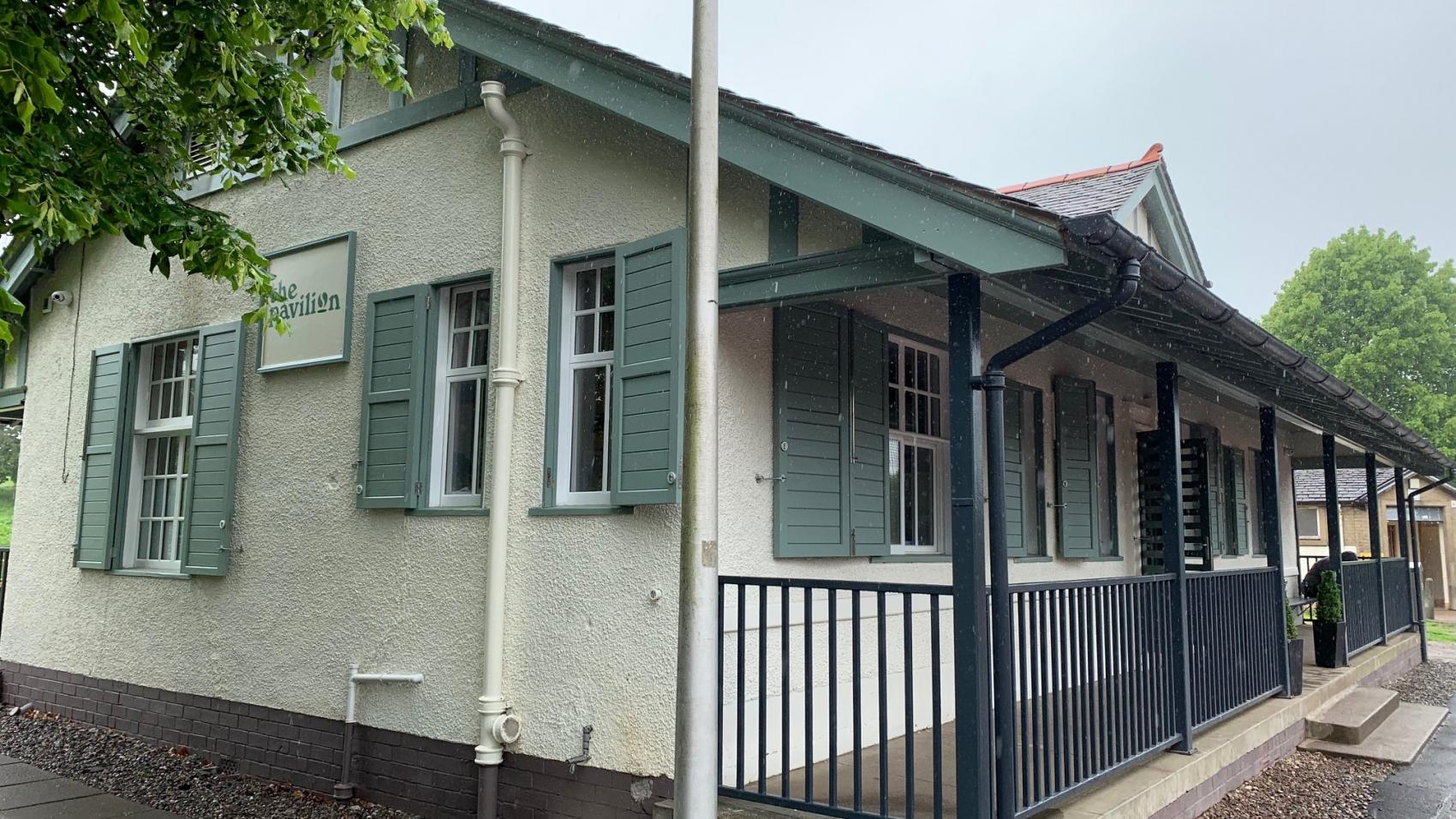 Restored Kings Park Pavilion in Stirling